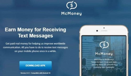Digital Marketing Solution McMoney SMS Review ~ Passive Income Apps